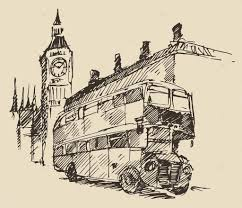 hand drawn london city u2014 stock vector grop 72757095