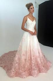 wedding dresses with color best 25 blush wedding dresses ideas on blush wedding