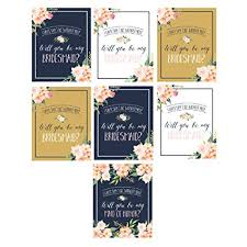 will you be my of honor gift will you be my bridesmaid stickers or wine bottle