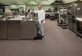 Commercial Kitchen Flooring Options Groß Commercial Kitchen Floor Covering Professional Flooring On