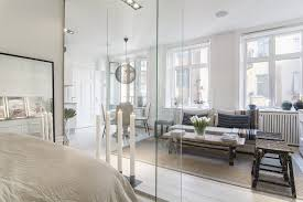 glass wall design small 366 sq ft apartment with glass wall idesignarch