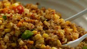 cuisiner du quinoa recette de micheline ce midi salade de maïs et quinoa