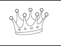 easy kids drawing lessons how to draw cartoon crown youtube