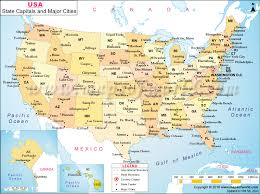state map major cities map of the united states maps city