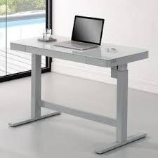 Stand Up Reception Desk Height Adjustable U0026 Standing Desks You U0027ll Love Wayfair