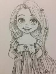 baby rapunzel sketch google search sketches pinterest