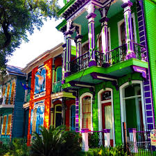 New Orleans Colorful Houses | image result for painted ladies new orleans painted lady