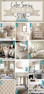 color series decorating with stones shades of teal and teal