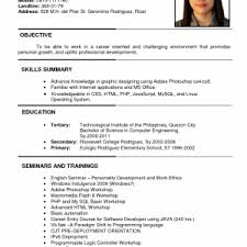 What Should Be My Objective On My Resume Cover Letter Template For I Need A Good Objective My Resume