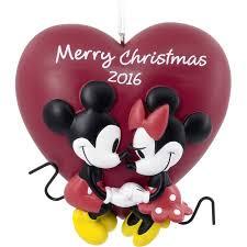 hallmark disney mickey and minnie mouse ornament