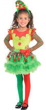 girls u0027 elf christmas costume accessories party city