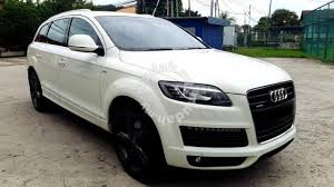 how many seater is audi q7 2007 audi q7 4 2 a s line quattro 7 seater cars for sale in