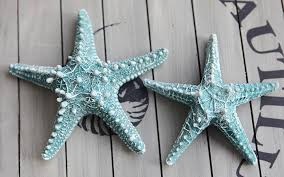 starfish decorations 2pcs lot resin starfish mediterranean style decoration starfish