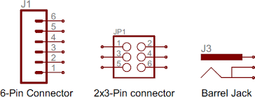 how to read schematic what is a connector