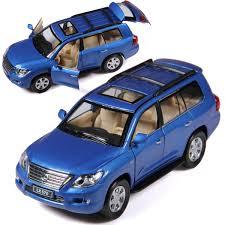 lexus suv blue brand new yj 1 32 scale car toys lexus lx570 suv diecast metal