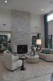 contemporary living room with floor to ceiling light grey stacked contemporary living room with floor to ceiling light grey stacked stone fireplace
