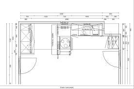 largeur plan de travail cuisine plan de cuisine aménagée cuisine en image