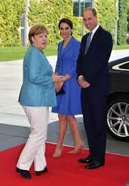 Prince William And Kate William And Kate Hold Talks With German Chancellor Angela Merkel