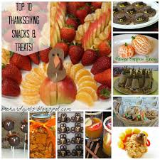orchard top 10 thanksgiving snacks and treats