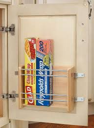 kitchen cabinet door organizers save drawer space by placing a rack on the inside of any cabinet