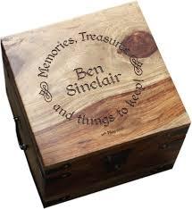 Personalised Keepsake Box Large Personalised Memory Box 13 X 13 X 10 Beautiful Keepsake
