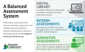 smarter assessments smarter balanced assessment consortium