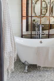 farmhouse bathrooms ideas farmhouseoom vanity ideas tile floor modern lighting faucet