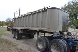 1991 mate quarter frame end dump trailer item f3379 sold