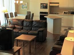 salon et cuisine aire ouverte villas mont sainte chalets appartements résidences de