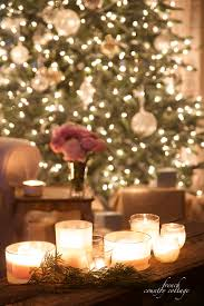 Candle Light Decoration At Home by Evening View Christmas Lights French Country Cottage