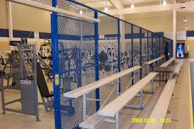 Partitions Standard Duty Wire Mesh Partitions 150c Indiana Wire Products