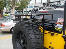 Baja Rack Fj Cruiser Ladder by New Fj Cruiser Trail Rack Outdoor Adventure Usa Llc