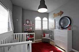 baby nursery baby boy nursery ideas features white wood crib with