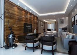 solid wood tv wall design living room hidden ceiling lamps
