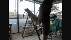 body fit inversion table bodyfit inversion table by sports authority youtube