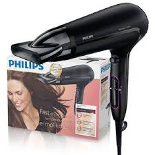 philips hp8230 thermo protect hair dryer black 220v 2100w fast