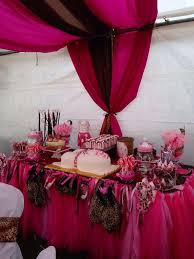 cheetah baby shower pink cheetah baby shower party ideas photo 2 of 16 catch my party