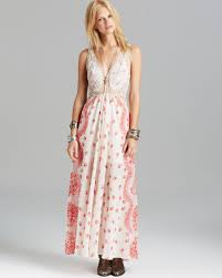 Free People Maxi Dress Victorian Love In Natural Lyst