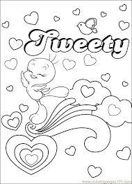 tweety 56 coloring mandala u0026 coloring tweety