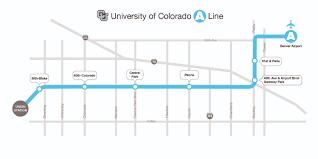 Gateway Colorado Map by Rtd University Of Colorado A Line Online Media Kit
