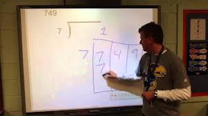long division box method youtube