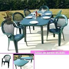 chaise et table de jardin pas cher salon de jardin plastique pas cher chaise exterieur polypropylene