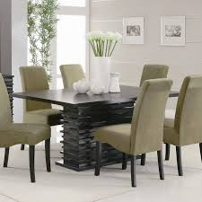 dining room furniture leather furniture glass table dining room