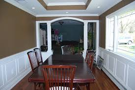 Contemporary Wainscoting Panels Custom Wainscoting Dining Room Pictures Great Ideas