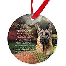 great gifts for german shepherd ornaments