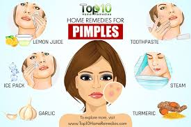 Blind Pimples On Chin Home Remedies For Pimples Top 10 Home Remedies