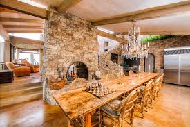 tuscan dining room mediterranean with ceiling design flush mount