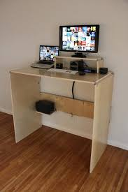 Diy Standup Desk by Standing Desk Ply Products