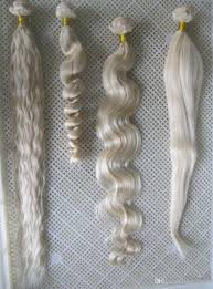 Blonde Weft Hair Extensions by Cheap Wholesale 60 Platinum Blonde Weave Bundles 7a Unprocessed