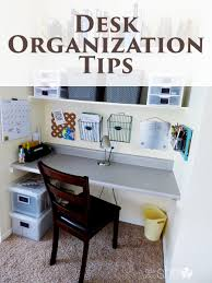 Organization Desk Desk Organization Tips How Does She